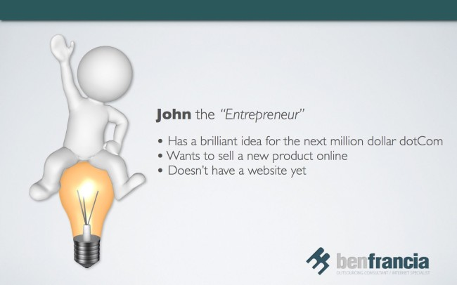 John the Entrepreneur