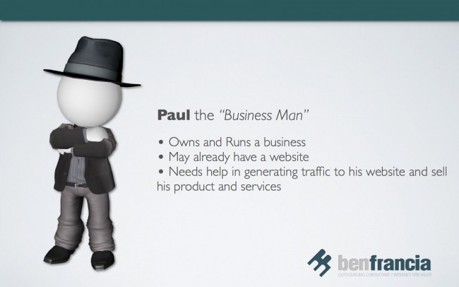 Paul the Business Man