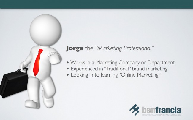 Jorge the Marketing Professional