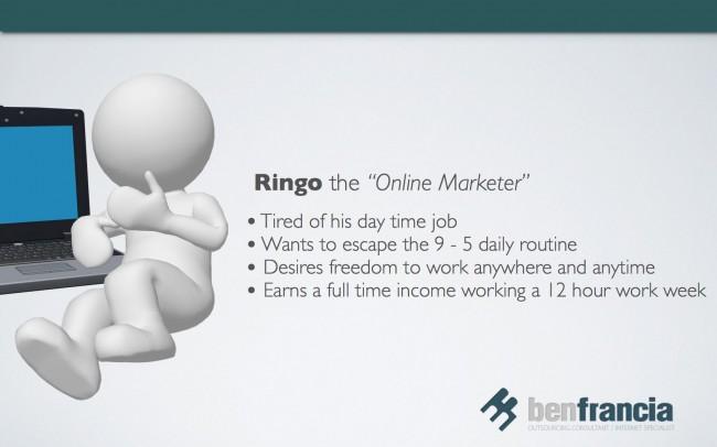 Ringo the Online Marketer