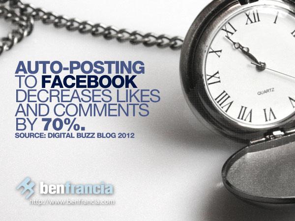 facebook autoposting