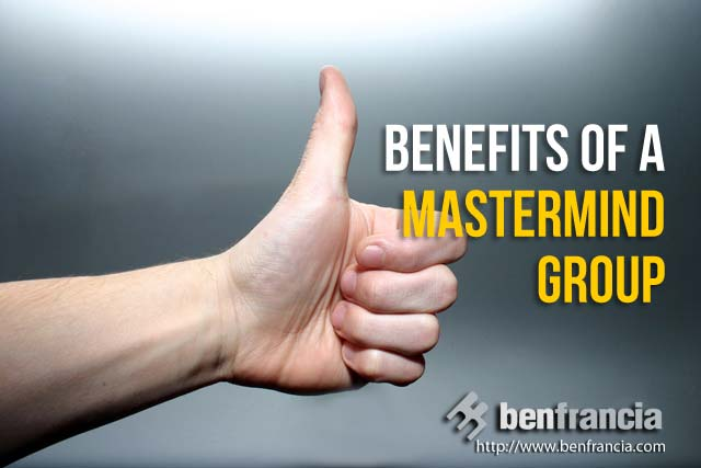 benefits of a mastermind