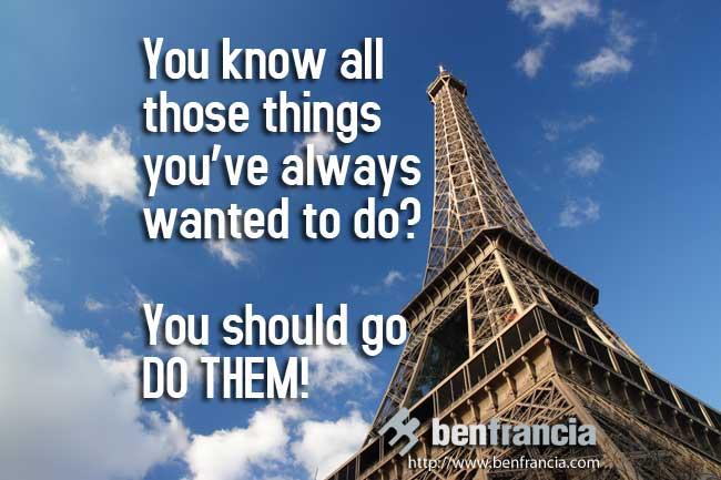 go do them