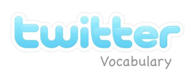 twitter vocabulary