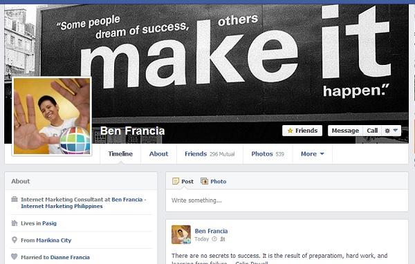 BEN_FRANCIA_Profile