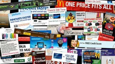 Banner Ads - Image by Daniel Oines under CC on Flicker