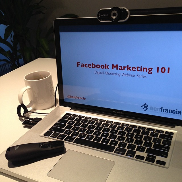 10150774 10152166287132886 4924993160023077561 n Webinar Series: Facebook Marketing 101