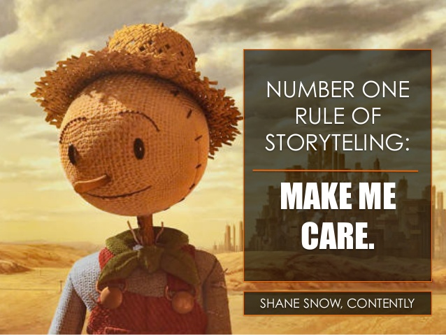slide 2 638 Number One Rule Of Storytelling: Make Me Care