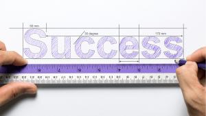 measure success concept PLZUEUG