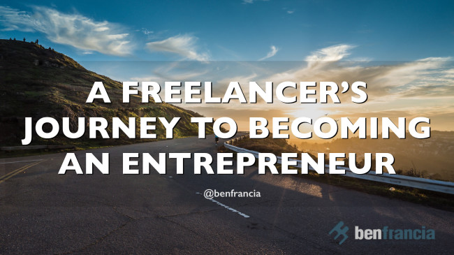 [VIDEO] A Freelancer's Journey to becoming an Entrepreneur